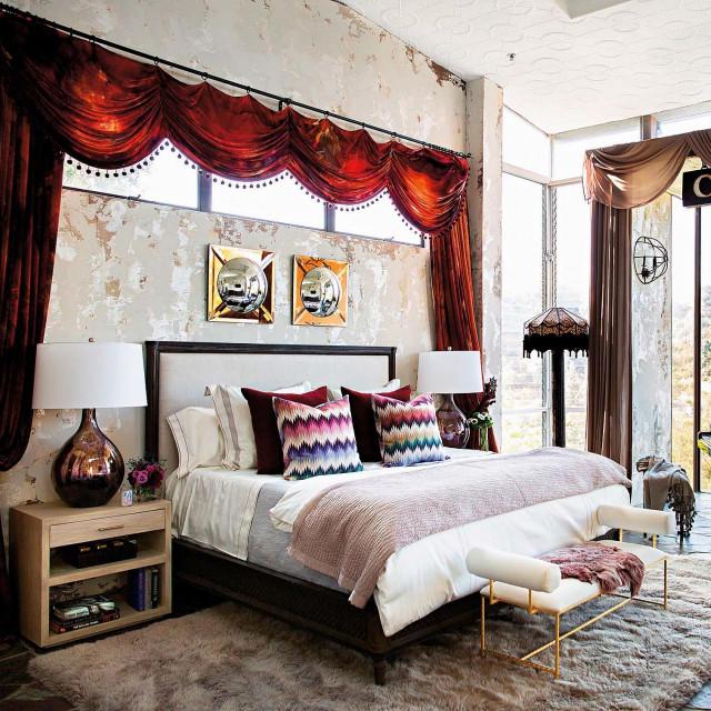Najljepši pogled pruža se iz Pallove spavaće sobe u kojoj je smješten i klavir