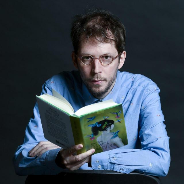 Pisac i urednik Andrija Škare<br />