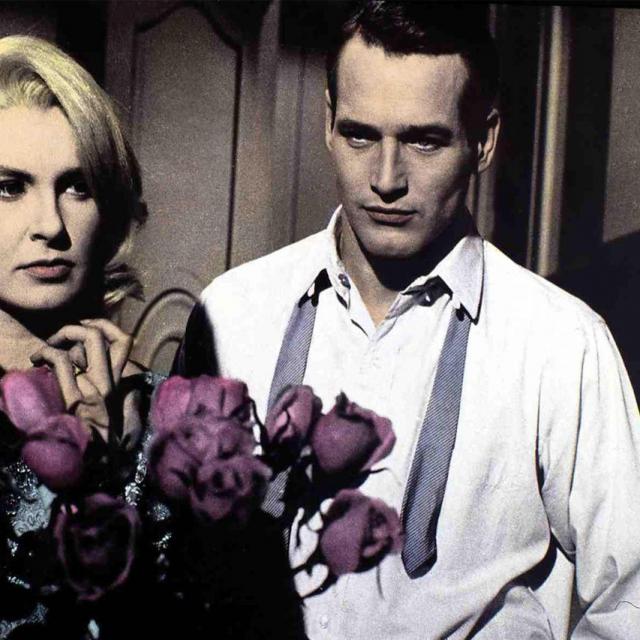 Paul Newman sa slavnom košuljom na sebi
