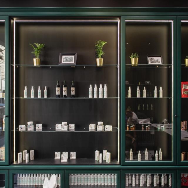 Unutrašnjost trgovine Hempium<br /> Fotografije: Promo