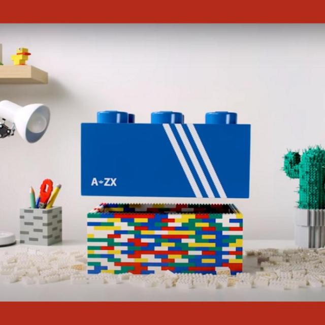 Fotografija: Lego x adidas