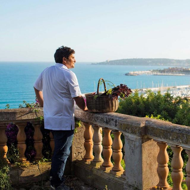 Chef Mauro Colagreco<br /> Fotografije:MATTEO CARASSALE