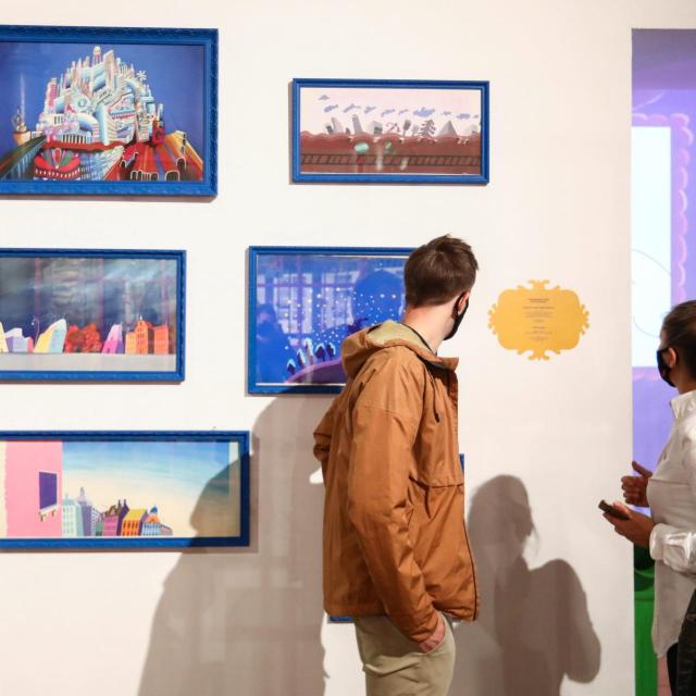 Izložba '51000 Balthazargrad' u Muzeju moderne i suvremene umjetnosti u Rijeci<br />