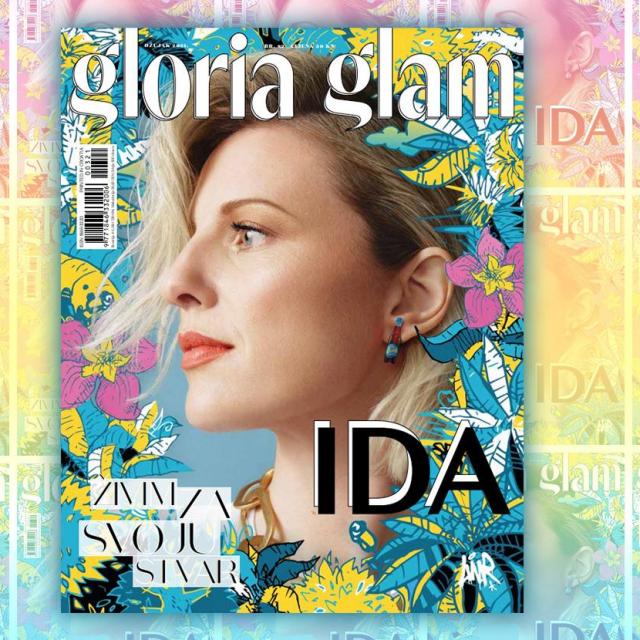 Fotografija na naslovnoj stranici - MATKOVIĆ & VILD<br /> Ilustracija - LUNAR<br /> Kreativno vodstvo i styling: ROMANO DECKER / Šminka: NINA PEJNOVIĆ / Frzirua: ANTE PAŽANIN @SALON GLAMOUR<br /> Ida Prester nosi t-shirt RAIINE, GARDEROBA; ogrlica ZARA, ARENA CENTAR