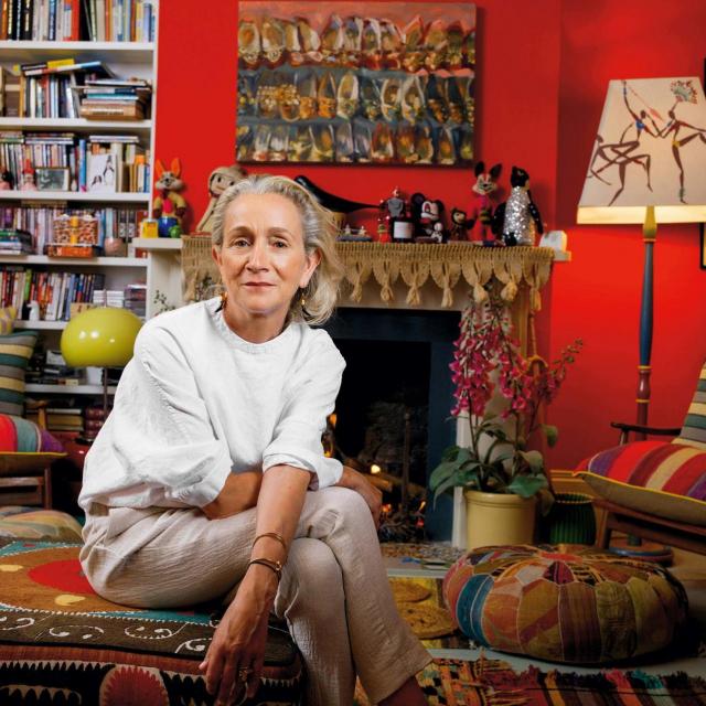 Lucinda Chambers u svom eklektični uređenom domu u zapadnom Londonu<br /> Fotografija:Matt Writtle/Evening Standard/ Profimedia