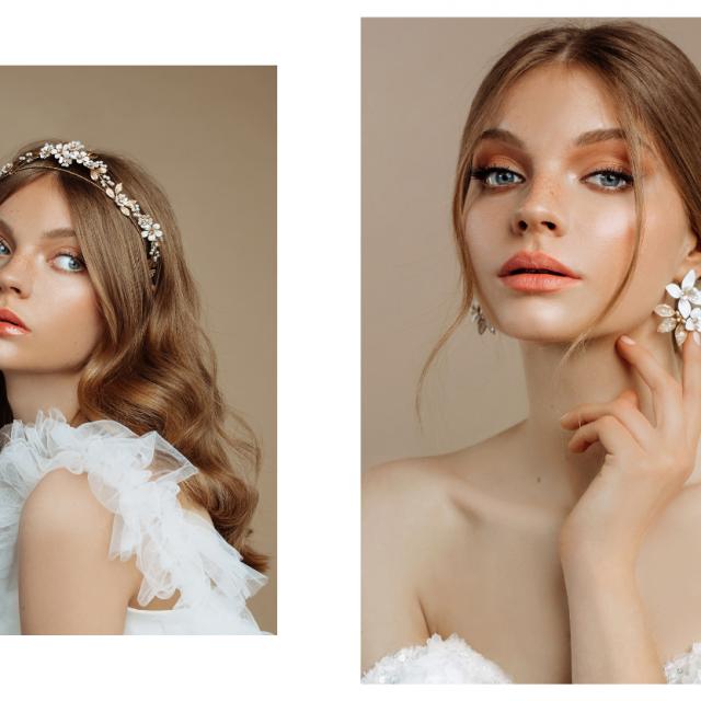 Fotografija: Karmen Poznić<br /> Kosa: TEUTA salon<br /> Vjenčanice: ALDUK<br /> Model: TALIA model<br /> Make-up: Nina Bukvić